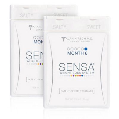 000-168 - SENSA® Weight-Loss System Month Six
