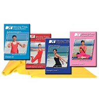 Mirabai Holland's Ease-in Exercise 4 DVD set for Beginners