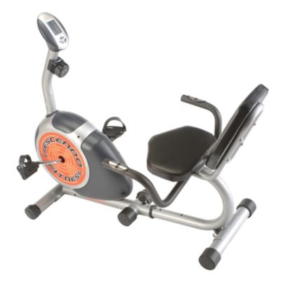 000-343 - Crescendo Fitness Magnetic Resistance Recumbent Exercise Bike