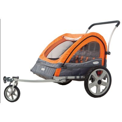 000-546 - InStep Quick N EZ Double Seat Bike Trailer