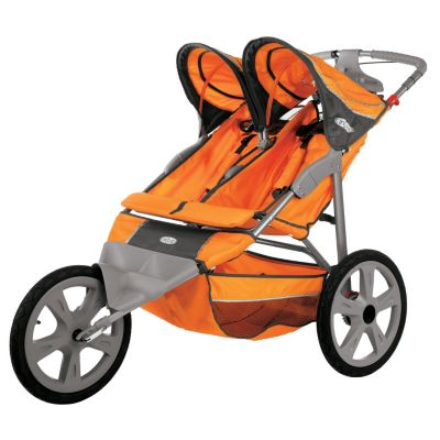 000-550 - InStep Flash Double Seat Fixed Jogger