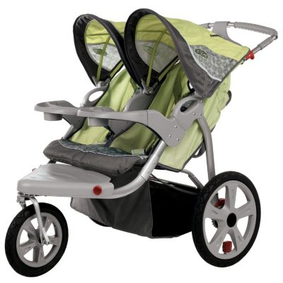 000-554 - InStep Safari Double Seat Swivel Jogger