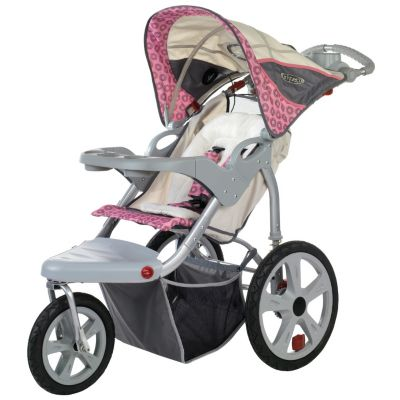 000-555 - InStep Grand Safari Single Seat Swivel Jogger