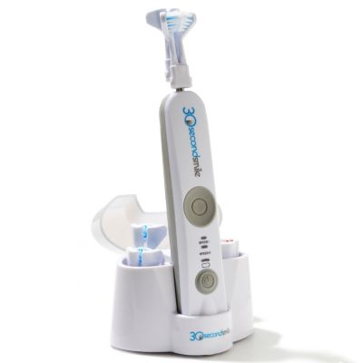 000-559 - 30-Second Smile™ Electric Toothbrush w/ Three Replacement Brush Heads