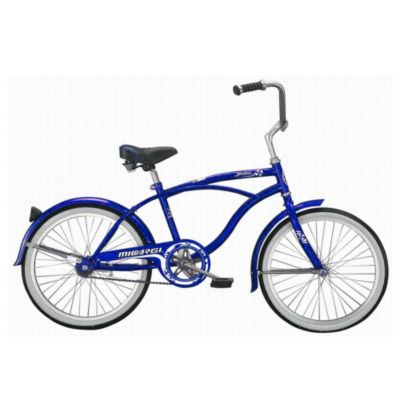 000-571 - Micargi® Blue Jetta Beach Men's Cruiser Bike