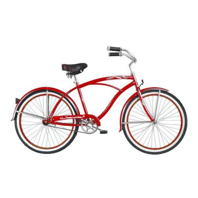 000-605 - Micargi® Red Tahiti Men's Beach Cruiser Bike