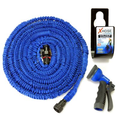 000-734 - XHose™ Expandable 50' Hose w/ Spray Nozzle & Storage Hook