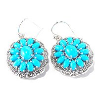SS SLEEPING BEAUTY TURQUOISE EARRING