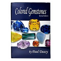 COLORED GEMSTONES BOOK BY PAUL DEASY