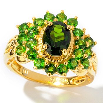 112-604 - NYC II 3.03ctw Chrome Diopside Ring