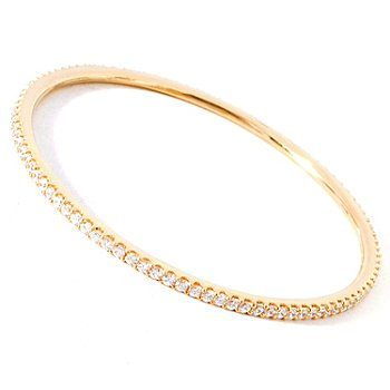 114-498 - Sonia Bitton for Brilliante® Slip-on Bangle Bracelet