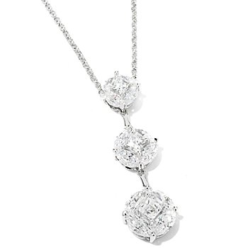 115-436 - TYCOON for Brilliante® Platinum Embraced™ 3.66 DEW Drop Pendant w/ Chain