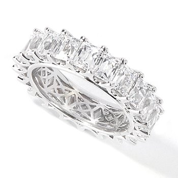 115-438 - TYCOON for Brilliante® Platinum Embraced™ Baguette Cut Eternity Ring