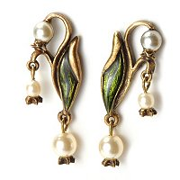 LILY-OF-THE-VALLEY EARRINGS