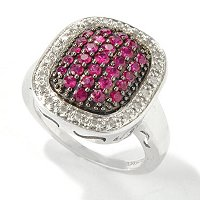 GT SS 1CTW PRECIOUS & DIAMOND PAVE RING