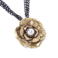 CAMELLIA FLOWER NECKLACE