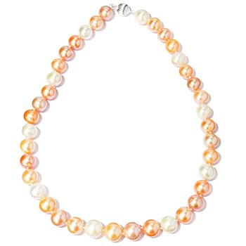 117-854 - 12-14mm Freshwater Cultured Pearl Sterling Silver 20'' Necklace