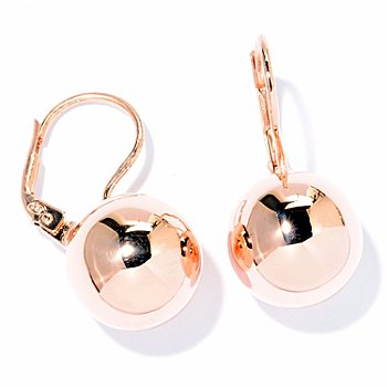 118-310 - Portofino Gold Embraced™ High Polish Bead Drop Earrings