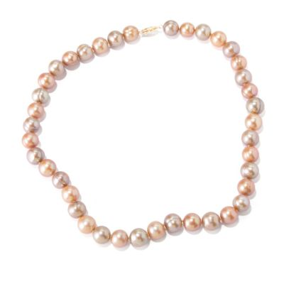 "118-668 - 14K Gold 18"" 9-11mm Freshwater Cultured Pearl Necklace"