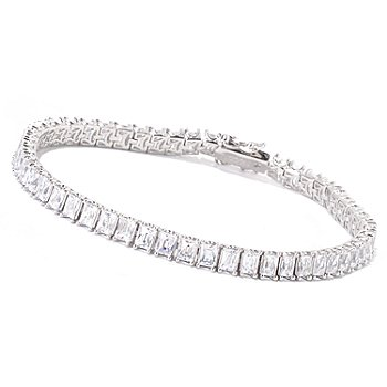 119-242 - TYCOON for Brilliante® Platinum Embraced™ Rectangular Tennis Bracelet