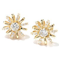 SB SS/CHOICE FLOWER STUD EARRINGS