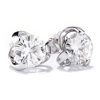 MOI 14K ROUND TWIST STUD EARRINGS