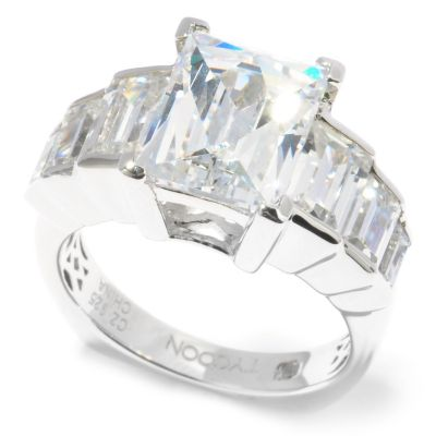 119-869 - TYCOON for Brilliante® 5.55 DEW Rectangular Cut Graduated Ring