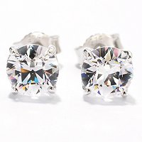 TYCOON SS PLAT CHOICE OF SHAPE STUD EARRINGS