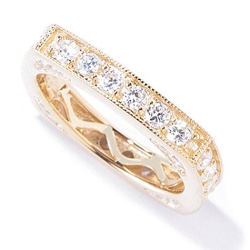 120-348 - Sonia Bitton for Brilliante® 1.46 DEW Square Ring