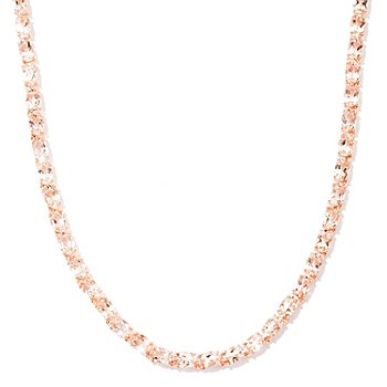 120-886 - NYC II 20.00ctw Morganite Tennis Necklace