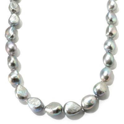 "121-051 - Sterling Silver 18"" 12-15mm Freshwater Cultured Pearl Necklace"