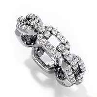 SB SS/CHOICE LINK ETERNITY BAND RING