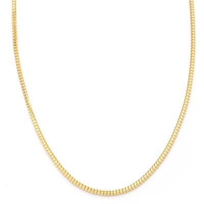 "121-343 - Portofino Gold Embraced™ 24"" Polished Snake Chain Necklace"