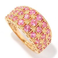 SS/P RING PINK SPINEL BAND