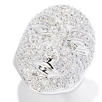 SB SS/CHOICE PAVE MASK FACE RING