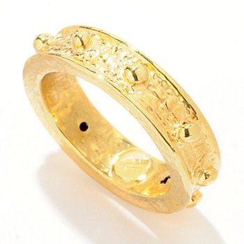 121-720 - Italian Designs with Stefano 14K ''Oro Vita'' Rosary Ring