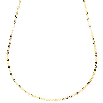 121-742 - Italian Designs with Stefano 14K Grande Clover Chain Necklace