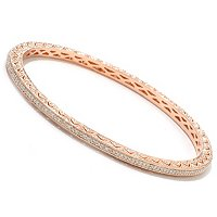 14K CHOICE ANNIVERSARY BANGLE