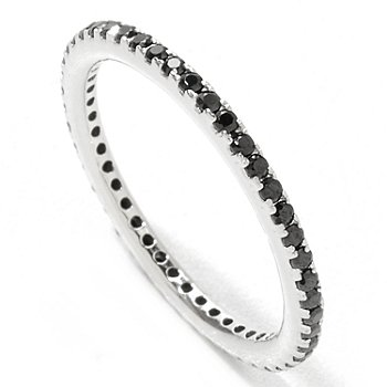 121-969 - Brilliante® Platinum Embraced™ Small Round Cut Eternity Band Ring