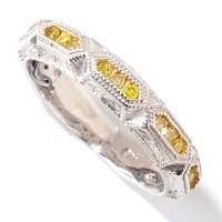 SS DIAMOND STACK RING