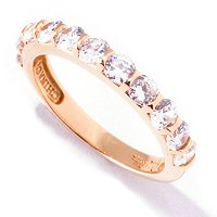 SB SS/CHOICE FANCY SET 3MM ROUND CUT BAND RING