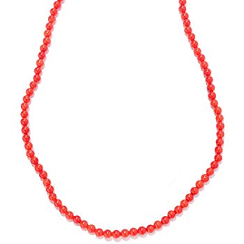 122-056 - Gems en Vogue II 20'' Gemstone Bead Strand Necklace w/ Toggle Clasp
