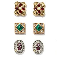 """ROYAL RENAISSANCE"" CANTERBURY EARRINGS"