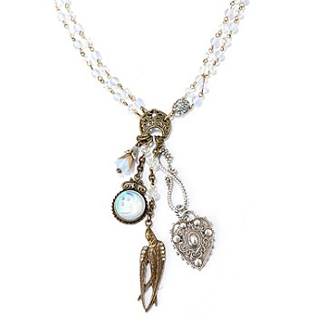 122-223 - Sweet Romance™ 25'' Paris Love Mementos Necklace