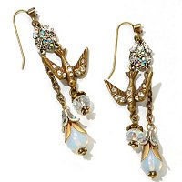 GOLDTONE PARIS LOVE MEMENTO EARRINGS