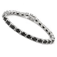 SS CHIOCE OF LENGTH OVAL BLK SPINEL