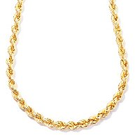 SS/18KGP NECK ROPE CHAIN - 20""