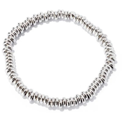 125-044 - Palatino™ Platinum Embraced™ Polished Stretch Slip-on Bracelet