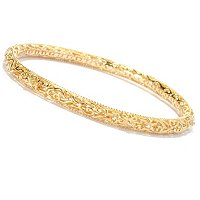 SS/18KYGP BRAC ORNATE SLIP-ON BANGLE