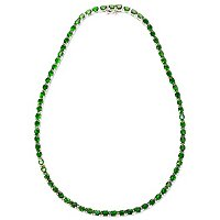 SS/P NECK CHROME DIOPSIDE TENNIS
